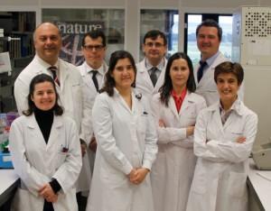 Fernando Corrales, Matías Ávila, Antonio Fontanellas, Pedro Berraondo, María Ujue Latasa, Irantzu Serrano, Ana Sampedro y Carmen Berasain.