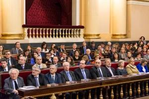 Entrega premios en el senado 2015